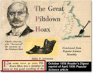 The Piltdown Man Affair